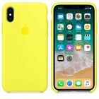Original Silicone Case Genuine OEM Cover for Apple iPhone X XS Max XR 6 7 8 Plus