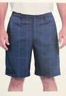 Pebble Beach Men's Dry-Luxe Performance Comfort Waist Shorts Navy Select Size