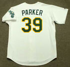 DAVE PARKER Oakland Athletics 1989 Majestic Throwback Home Baseball Jersey on Ebay