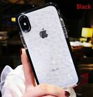 Clear Diamond Shockproof Soft Transparent Case Cover For iPhone 7 Plus 8 Plus XR