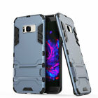 Hybrid Rubber Rugged  Stand Case For Samsung Galaxy S8+ Plus S6 S7 Edge Note 5 4