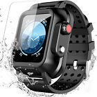 For Apple iWatch Series 3(38mm 42mm)/Series 4(44mm)Waterproof Case+3X Band Strap image