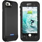 iPhone 8 7 Plus Qi Wireless Waterproof Rechargeable Battery Military Grade Case