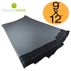 Grey Mailing Bags 9x12 RM Large Letter Plastic Self Seal Strong Postal Poly