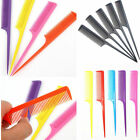 10X Hair Comb Salon Brush Styling Hairdressing Rat Fine-tooth Plastic Tail W1A8