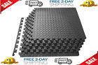 Exercise Floor Mat Fitness Puzzle Rug Gym 24SF Workout.Equipment Weight Lifting image