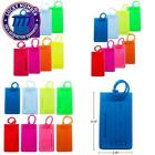 Kyпить 8 Packs Colorful Flexible Travel Luggage Tags For Baggage Bags/Suitcases - Name  на еВаy.соm