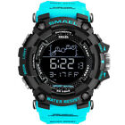 SMAEL Men's Digital Military LED Analog Date Quartz Wrist Watch Shock&Waterproof image