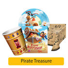 Pirate Treasure Birthday Party Range - Boy Kids Childrens Tableware Decorations