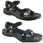 Air Balance Mens River Water Sandal Black Blue All Size