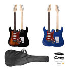 Basswood Beginner Electric Guitar w/Bag Pick Strap&Accessories