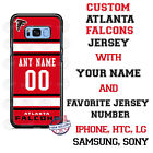 ATLANTA FALCONS NFL FOOTBALL PERSONALIZED PHONE CASE FITS iPHONE SAMSUNG LG etc $26.98 USD on eBay