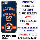 HOUSTON ASTROS BASEBALL PERSONALIZED PHONE CASE COVER FOR iPHONE SAMSUNG GOOGLE on Ebay
