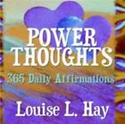 Power Thoughts by Hay  Louise