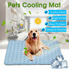 Self-Cooling Gel Pet Mat For Floor Bed Crate Cool Dog Cushion Pad Indoor Outdoor