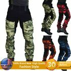 Men Camouflage Pants Military Tactical Trousers Hiking Camping Outdoor Male Pant