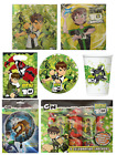 BEN 10 Birthday Party Ranges - Tableware Balloons Supplies Decorations