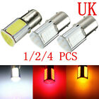 Cob 4 Led Car Turn Signal Reverse Back Light Bulb 12v 1156 Ba15s 382 P21w Uk