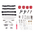 Upgrade RC Parts Stainless Steel Gear Rear Axle Gear Metals 2 Colors for MN