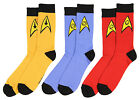 Star Trek The Original Series Uniform Adult Crew Socks on eBay