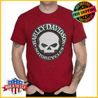 FREESHIP Harley-Davidson Willie G.T-Shirt Red Cotton Men's S-5XL RARE Limited image