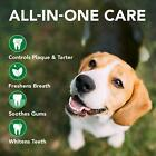 Vet's Best Complete Enzymatic Dog Dental Care Kit Cleaning, Fresh Breath for Dog