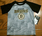 Toddler NHL Boston Bruins Short Sleeve T-Shirt, Black/Gray, Sizes, NEW $6.99 USD on eBay