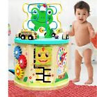 Learning Wooden Bead Maze Cube Activity Center For Child Toys Kids Gift $27.53 USD on eBay