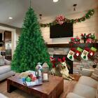 5.5'/6'/7'/8' Feet Unlit Artificial Christmas Pine Tree with Sturdy Mental legs