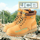 JCB 5CX Safety Work Boots Honey Men's Steel Toe Cap Shoes Authorised JCB Outlet
