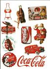 10 Pack of Coca Cola Stickers (Choice)