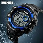 SKMEI Brand Compass Watches Men 5ATM Water Proof Outdoor Digital Sports Watches  image