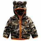 New Kids Infants Boys Girls The North Face Bear Hoodie Campshire Zip Jacket