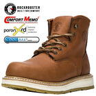 Kyпить ROCKROOSTER Men's Soft Toecap Work Safety Boots Lace-up Water Resistant Shoes на еВаy.соm