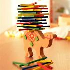 Kids Stacked Tower Toys Balancing Blocks Colorful Wooden Baby Puzzle Gigts DS
