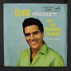 ELVIS PRESLEY: Are You Lonesome Tonight / I Gotta Know 45 (PS, sm tol) Oldies