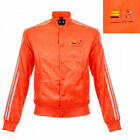 Adidas Pharrell Williams Mens Track Bomber Jacket Orange Z97399 A4C