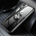 Finger Ring Magnetic Car Mount Shockproof Case Cover For iPhone XS MAX XR 7 8 P