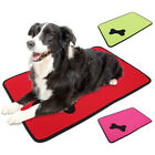 Waterproof Washable Dog Bed Pet Kennel Cushion Mat Crate Cage Pad House Large //