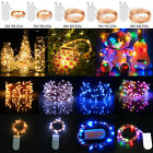 ✅20-60 Led Fairy Copper Wire String Lights Christmas Party Home Decor Waterproof