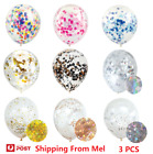 3 Pcs 30 Cm Confetti Balloons Birthday Wedding Party Decoration Fast Delivery