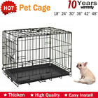 Small Medium Large X-Larger Pet Dog Cage Crate Foldable Carry Transporpet Cages
