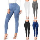 Autumn Fitness Skinny Denim Jean Ladies Casual Pencil Pants Jean Bodycon Trouser