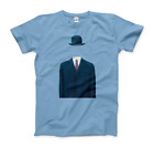 Rene Magritte Man in a Bowler Hat, 1964 Artwork T-Shirt Treachery of Images