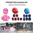 7PCS/SET Kids Protective Gear Set Scooter Skate Roller Cycling Knee Elbow Pads X image