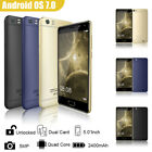5 Inch Android 7.0 Unlocked Smartphone 3g Mobile Cell Phone Gsm 4 Core Dual Sim