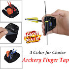 Finger Tab Finger Protector Tab for Recurve Bow Right Handed 3Color for Choice