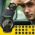 Man Military Tactical Bluetooth Smart Watch Fitness Tracker Sport Waterproof 50m