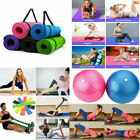 Exercise Fitness Yoga Mat Gym Ball Pilates Sport Auxiliary Tools Collection