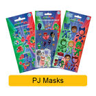 PJ MASKS Fun Foil Stickers - Birthday Christmas Xmas Gift Stationery Colouring